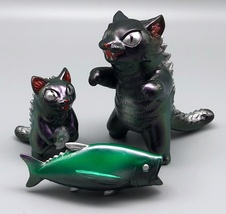 MaxToy Color-Shifting Metallic Purple/Green Negora, Micro Negora, and Fish image 4
