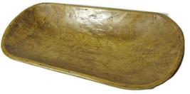 "New Large 20"" Natural Raw Wood Fruit Bowl Rustic Industrial Natural Orga... - $59.39"