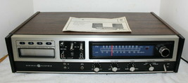 GE SC2307 AM/FM Stereo Receiver w/ Built-In 8 Track Recorder Player + Ma... - $69.99