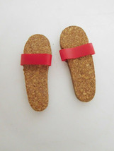 Vintage Early 1960's Cork Sandals for Mattel Ken, Barbie Boyfriend - $5.99