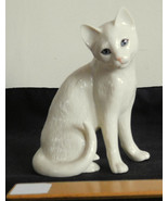 Lenox Porcelain Cat Figurine April Showers May Flowers Parvaneh Collection - $17.99