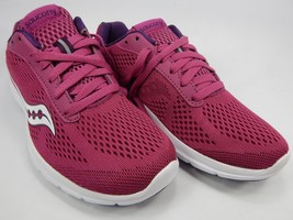 Saucony Ideal Women's Running Shoes Size US 7 M (B) EU 38 Berry / White S15269-3