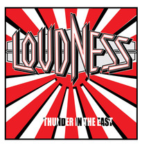 Loudness T-shirt 80s heavy metal rock band concert 100% cotton printed tee image 2