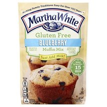 Martha White Gluten Free Muffin Mix, Blueberry, 7 oz image 7