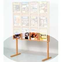 Fixturedisplays Opzionale Solido Rovere Pavimento Stand per LM 16,LM 12,... - $40.27