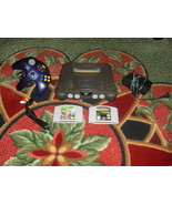Nintendo 64 Charcoal Grey Console (NTSC) south park rally and sanfrancisco rush - $89.09