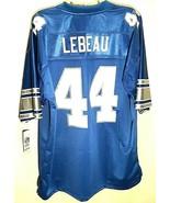 HOF Dick LeBeau #44 Detroit Lions NFL NFC French Blue Vintage Pro Jersey... - $178.19