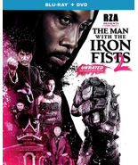 The Man with the Iron Fists 2 [Blu-ray + DVD] - $2.95