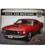 "Ford Boss 429 Mustang Ford Metal Sign ( 15"" by 12"") - $13.95"