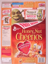 MT General Mills Cereal Box HONEY NUT CHEERIOS 2004 6.5oz SHREK 2 [G7D5h2] - $11.52