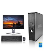 Dell Computer 3.0 GHz PC 4GB RAM 500 GB HDD Windows 10 - $238.29