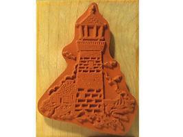 Vintage PSX 2000 Lighthouse Rubber Stamp #F-1145 image 2
