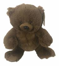 "Ganz H14625 Brown Sentiments Bear 9"" Plush - $27.71"