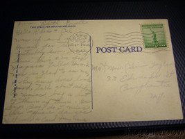 Vintage Postcard of Seneca Lake Country Club Geneva NY image 2