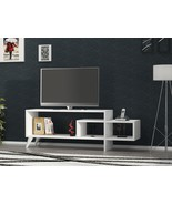 CLIFF 47 in. TV STAND - WHITE - $109.99