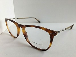 New Burberry B 5822-Q 1633 55mm Tortoise Round Women's Eyeglasses Frames... - $119.99
