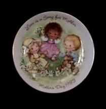 "Vintage 1983 ""Love is a Song"" Collectable Mothers Day Plate by Avon - $5.89"