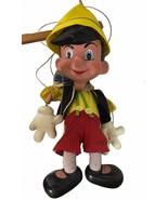 "Vintage 60's Disney Pinocchio Pelham Puppet Marionette Professional 28"" ... - $589.05"