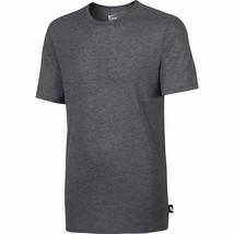 Nike Solid Futura Men's Casual Athletic Training T-Shirt Grey Heather 70... - $24.95