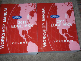 2011 Ford Edge Lincoln Mkx Service Shop Repair Workshop Manual Set Brand New - $217.75