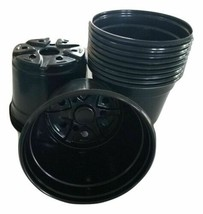 """An item in the Home & Garden category: Set of 50 - TRADE GALLON {Holds .66 gallon} Nursery flower Pots {6.5"""" x 6.5""""}"""