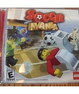 2002 Scholastic LEGO SOCCER MANIA PC CD ROM Game Software Win XP Me 2000 98 - $8.90
