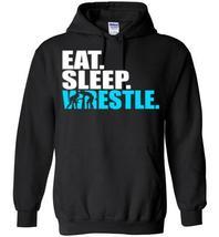 Eat Sleep Wrestle Blend Hoodie - $43.82 CAD+