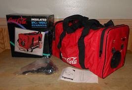 NEW 1989 Coca-Cola Insulated Bag / Radio with Headphones in Box - Vintag... - $33.84