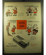 1949 Kleenex Tissues Advertisement - Little Lulu by Marge - The softness... - $14.99