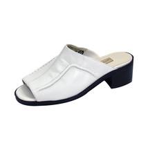 PEERAGE Patrice Women Wide Width Trendy Durable Comfort Leather Heeled Sandals - $34.95