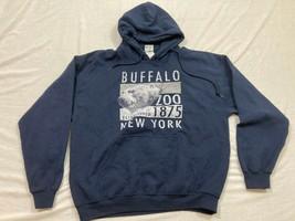 M94 RARE BILLABONG Blue Hooded Sweatshirt Shirt Jacket MEN'S M Medium - $14.80