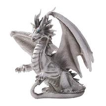 Pacific Giftware Grey Checkmate Dragon Statue by Ruth Thomson Dragons Lair - $52.46