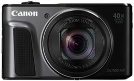 Canon Digital Camera PowerShot SX720 HS black 40x Optical zoom PSSX720HSBK - $426.47
