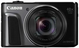 Canon Digital Camera PowerShot SX720 HS black 40x Optical zoom PSSX720HSBK - $426.47