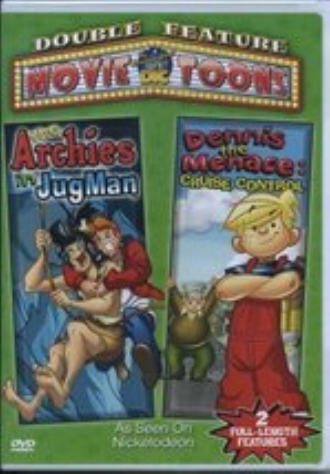Archies: Jugman / Dennis The Menace: Cruise Control Dvd