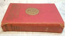SHAKESPEARE COMPLETE WORKS ~ History, Life & Notes (1927 Hardcover Book)