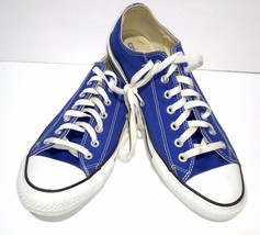 CONVERSE All Star Blue  Men's Size 11 / Women's 13 Sneakers Shoes  A142373f - $27.88