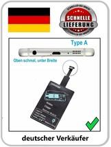 QI Receptor Android Samsung Galaxy Cargador Inalámbrico Wireless Micro USB - $4.81