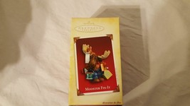 HALLMARK KEEPSAKE ORNAMENT CHRISTMAS XMAS NEW DATED 2005 MOOSTER FIX IT ... - $4.94