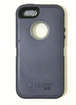 Authentic Otterbox Defender Rugged Protection for iPhone 5 / 5s Blue/Gra... - $15.83