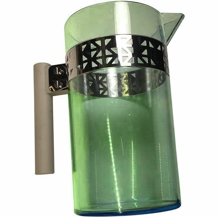 Primary image for Starbucks Coffee Caraffe / Pitcher, Green Plastic and Metal, 2013