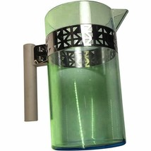 Starbucks Coffee Caraffe / Pitcher, Green Plastic and Metal, 2013 - $29.99