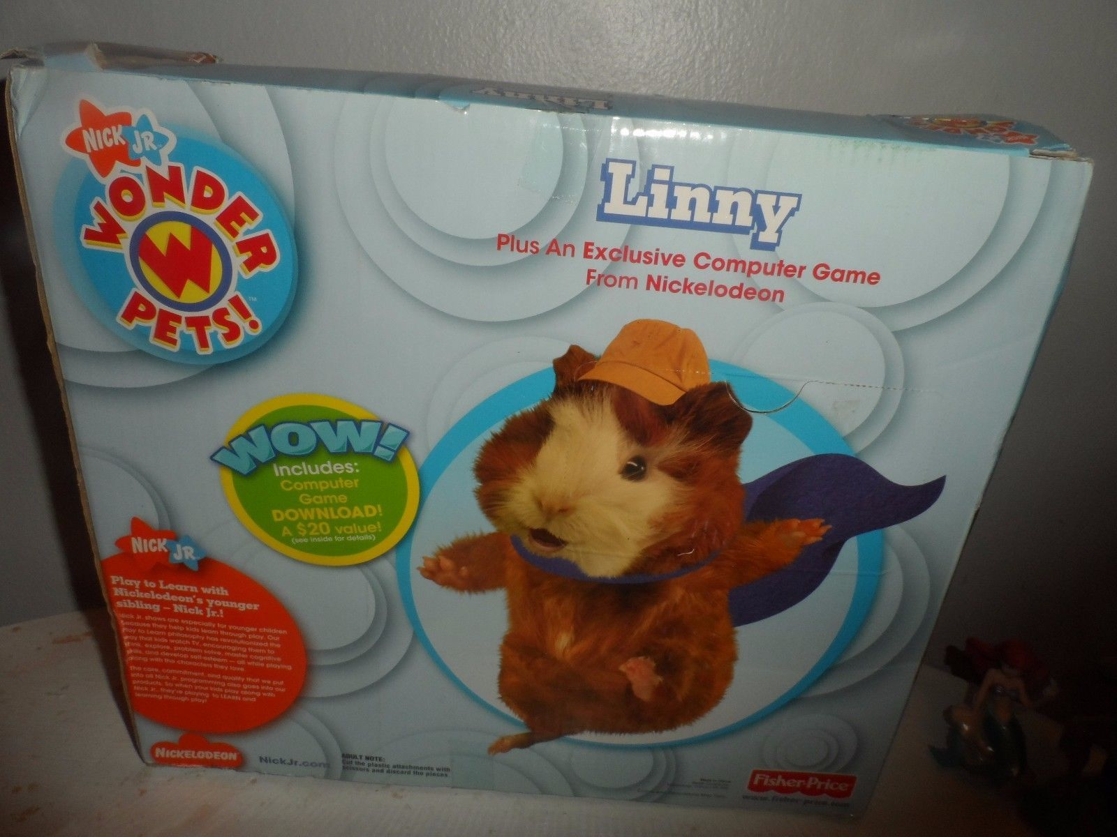 Fisher Price Wonder Pets Exclusive Plush Linny NEW