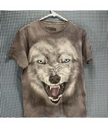 3D Tees by the Mountain Wolf T-Shirt Men's Size Medium  - $9.89