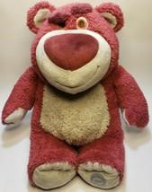 "Genuine Disney Pixar Toy Story 3 Lotso Huggin Bear 15"" Strawberry Scente... - $20.56"