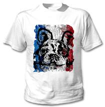 French Bulldog French Flag 19 - New Amazing Graphic Tshirt - $23.16