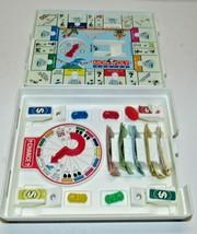 Vintage 1994 Monopoly Junior Travel Size Board Car Game Parker Brothers - $18.61