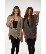 Designs by OC Double-Knit Butterfly Sweater/Wrap - $69.90