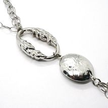 925 Silber Halskette, Jade Violet, Kette Mehrere, Anhänger Wasserfall, Tropf image 3