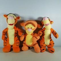"Disney Tigger Plush 10"" Tigger Rattles & 2 12"" Tiggers Only One Rattles ... - $19.99"